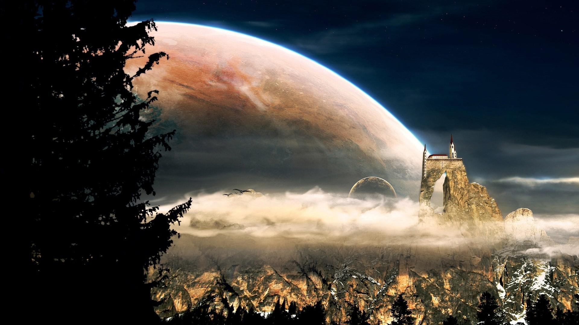 Celestial Background Wallpaper