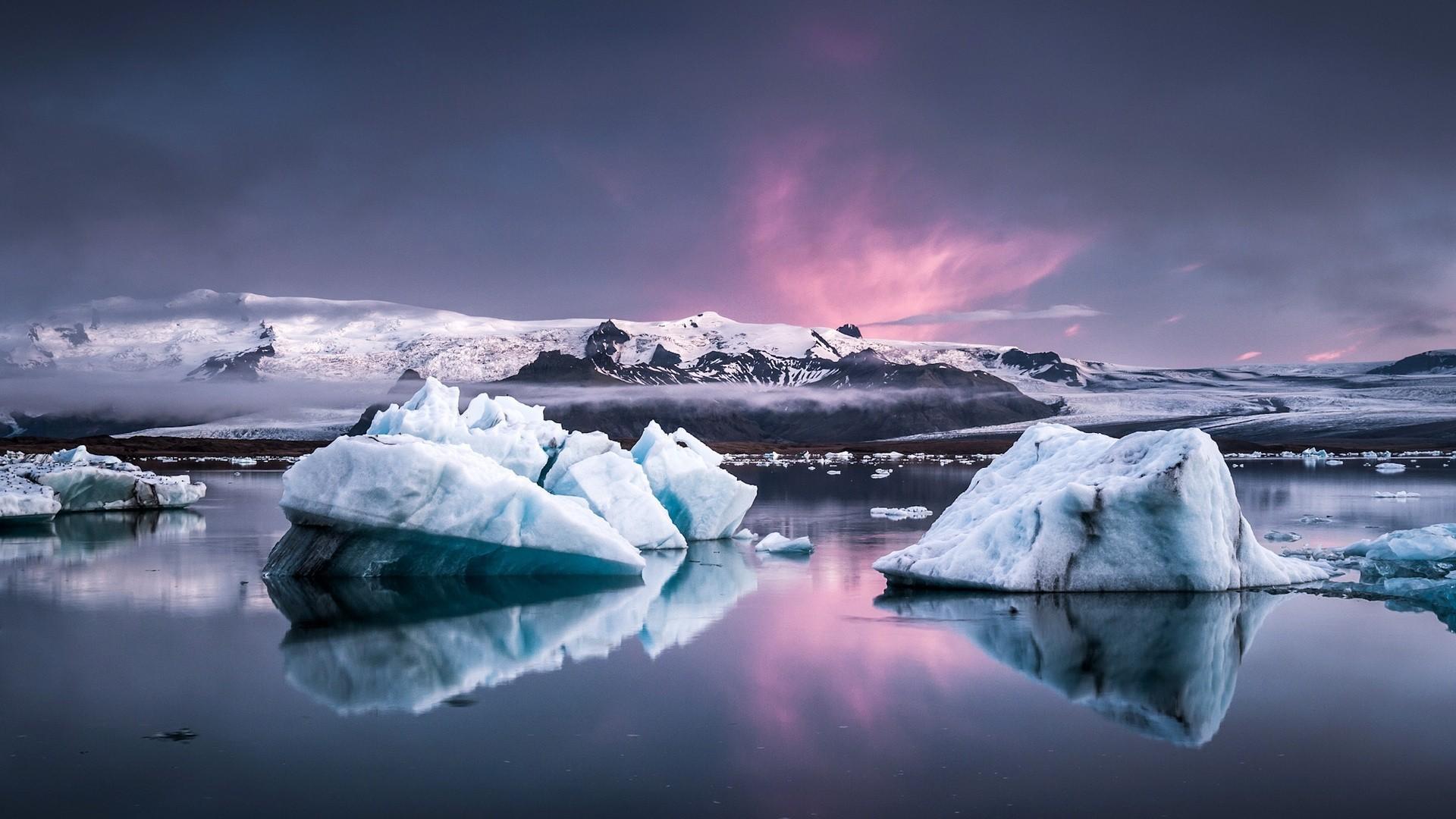 Iceberg Wallpaper theme
