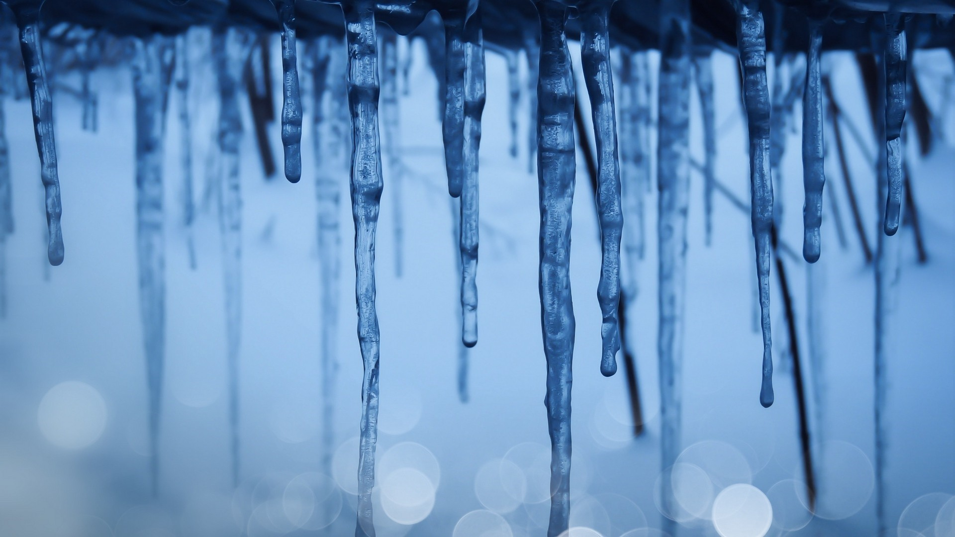Icicles hd wallpaper download