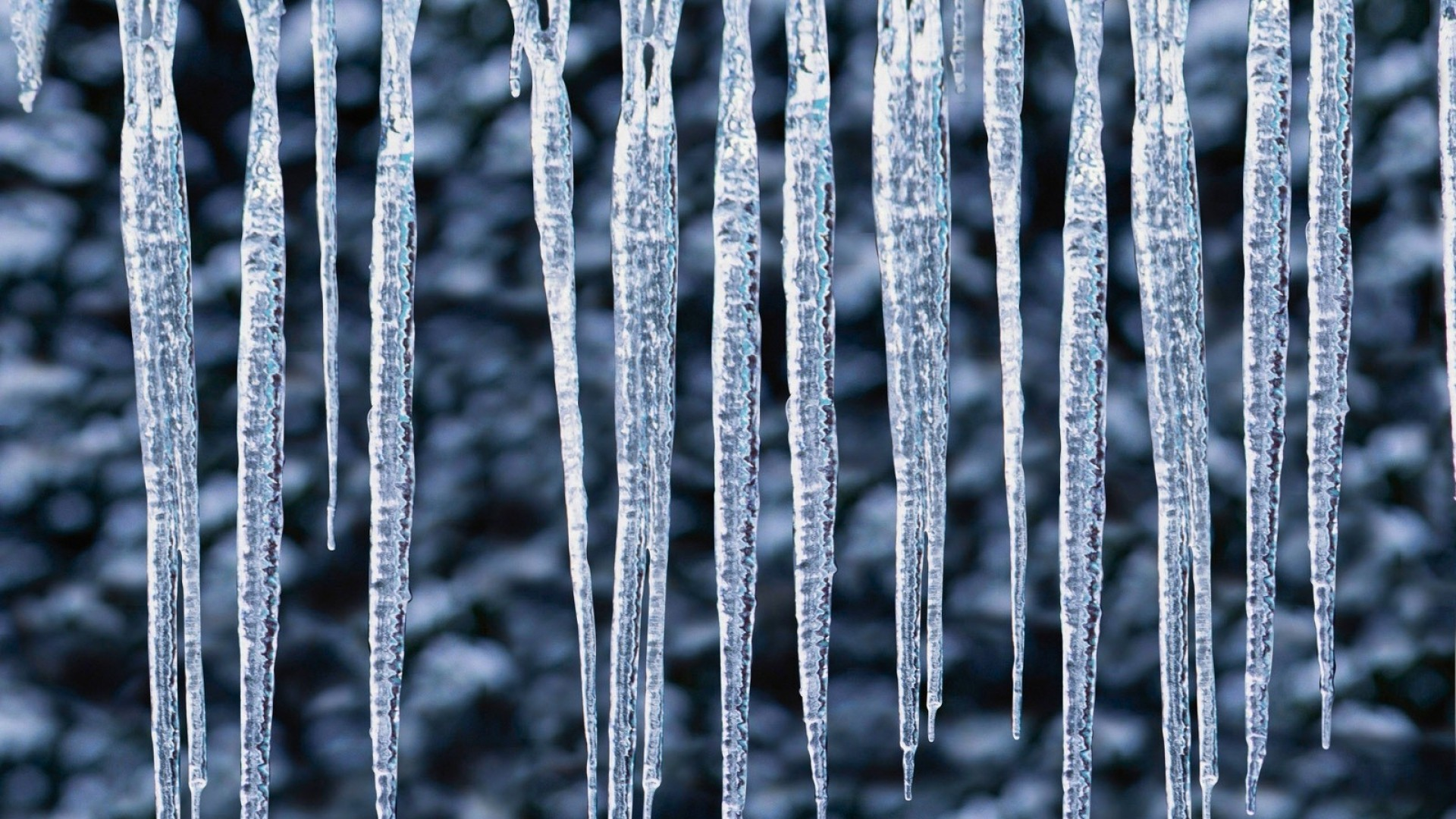 Icicles wallpaper