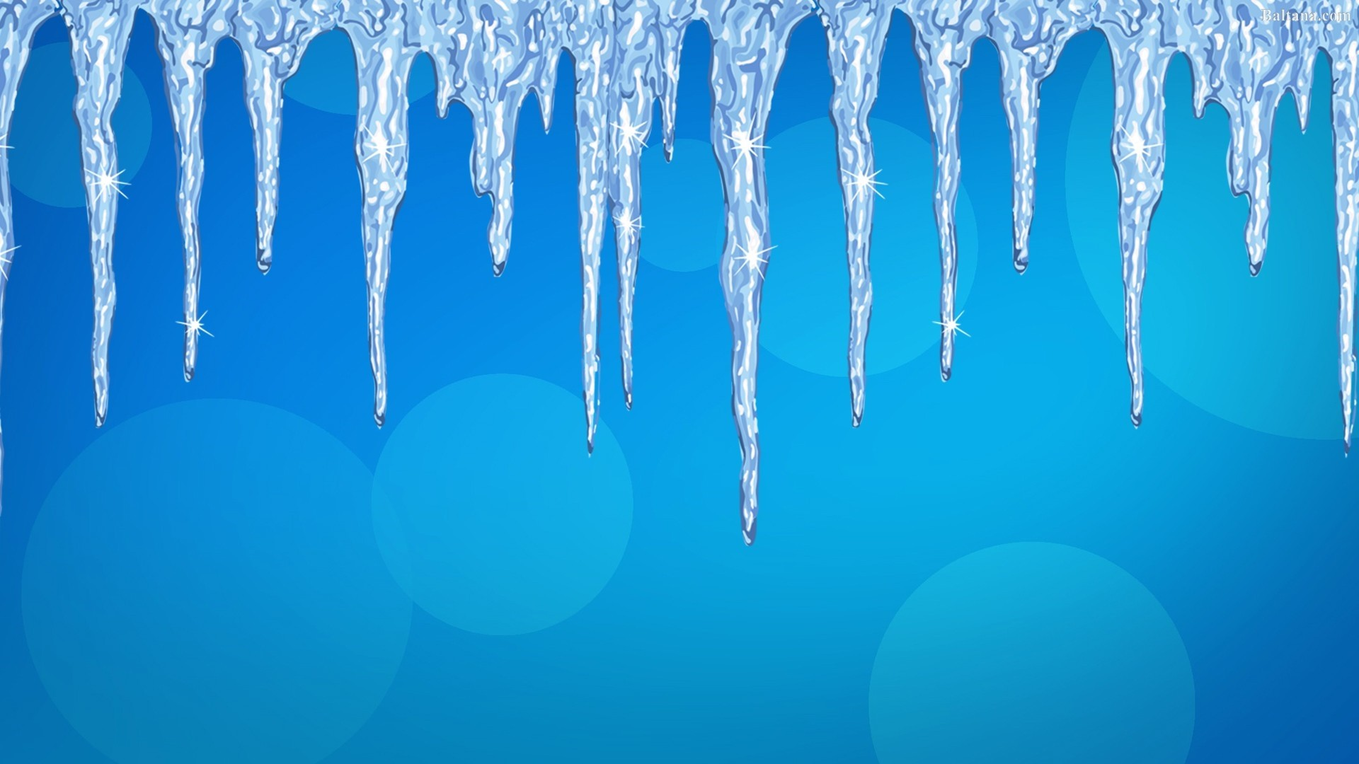 Icicles Wallpaper theme