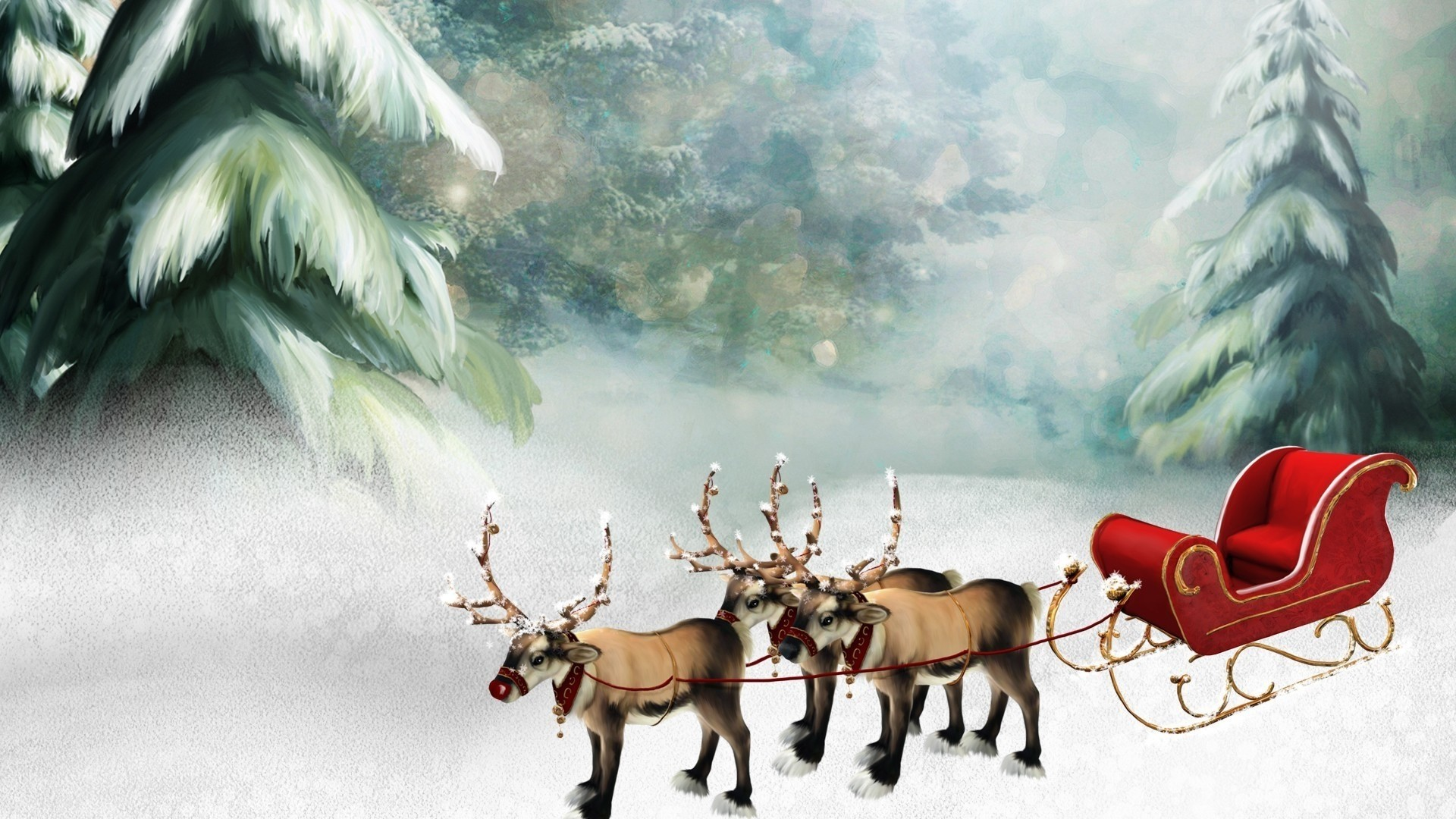 Reindeer Wallpaper Picture hd