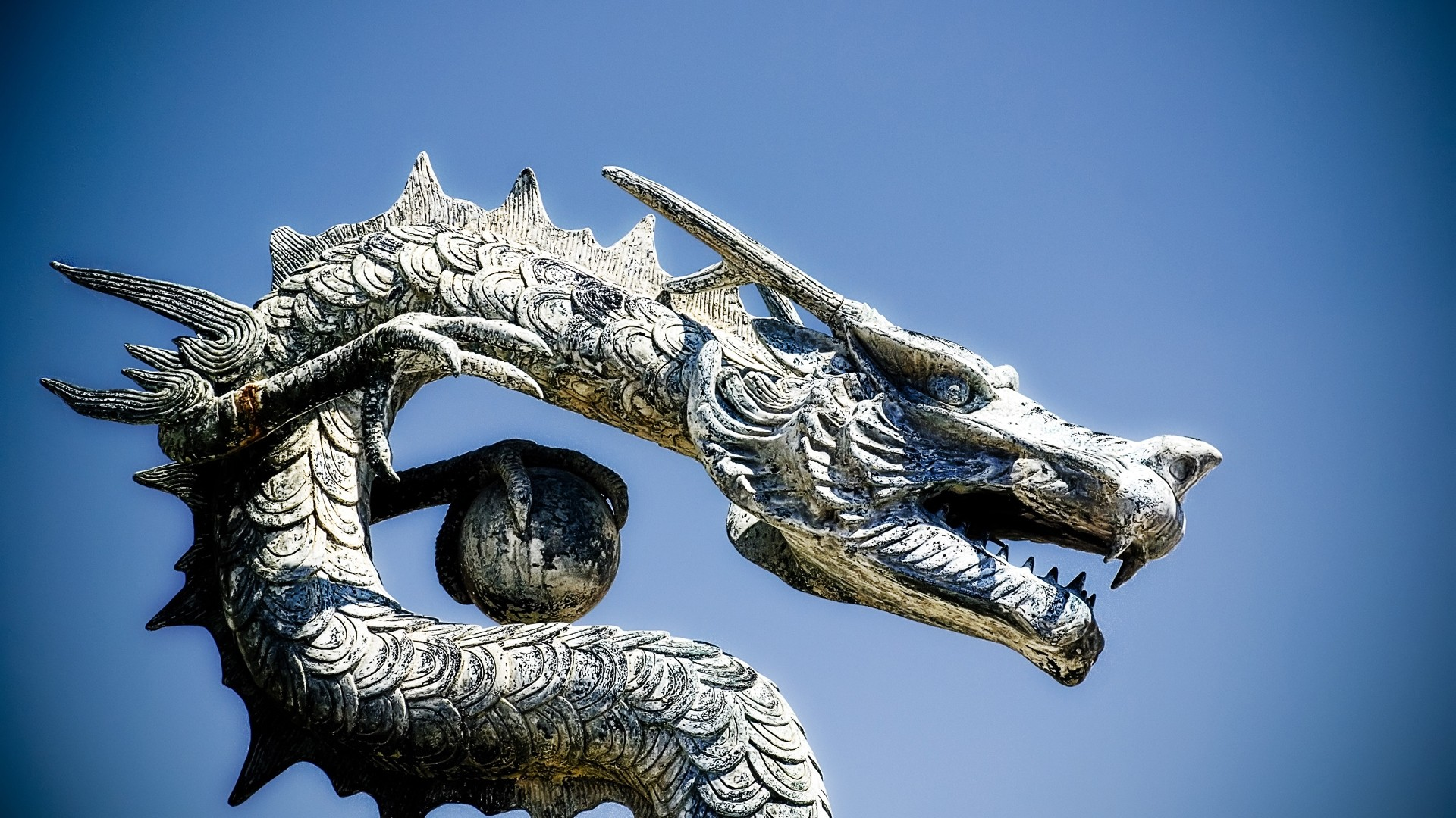 Chinese Dragon Wallpaper for pc