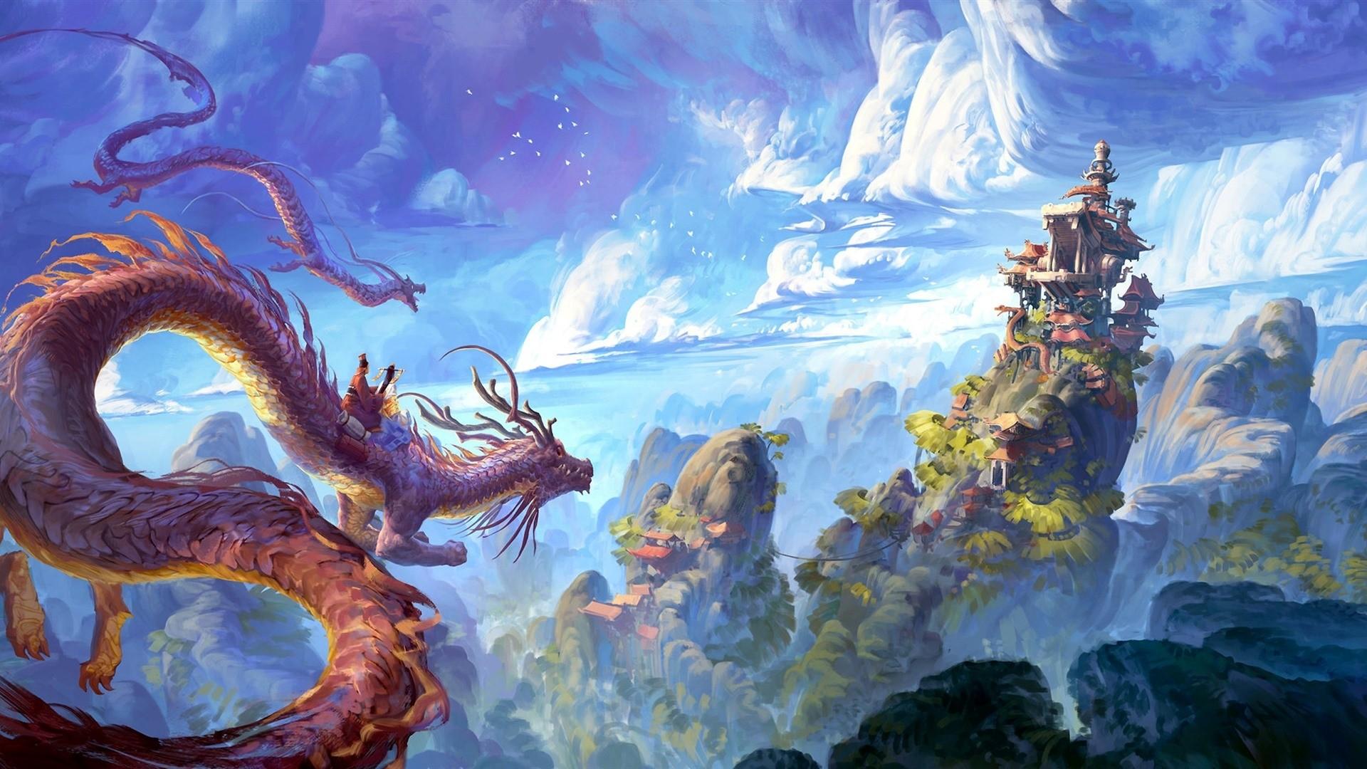 Chinese Dragon PC Wallpaper