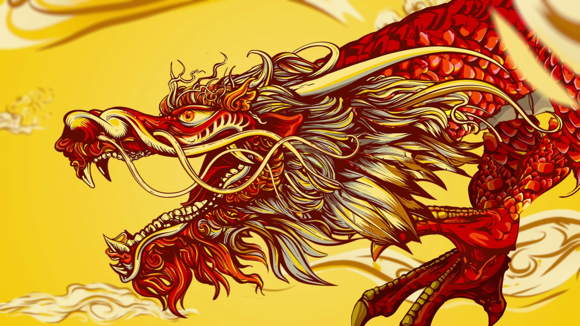 Chinese Dragon Wallpaper and Background