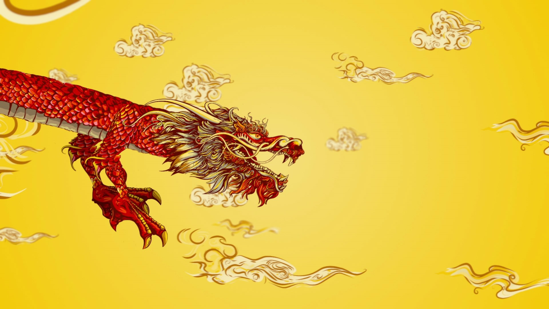 Chinese Dragon Free Wallpaper and Background
