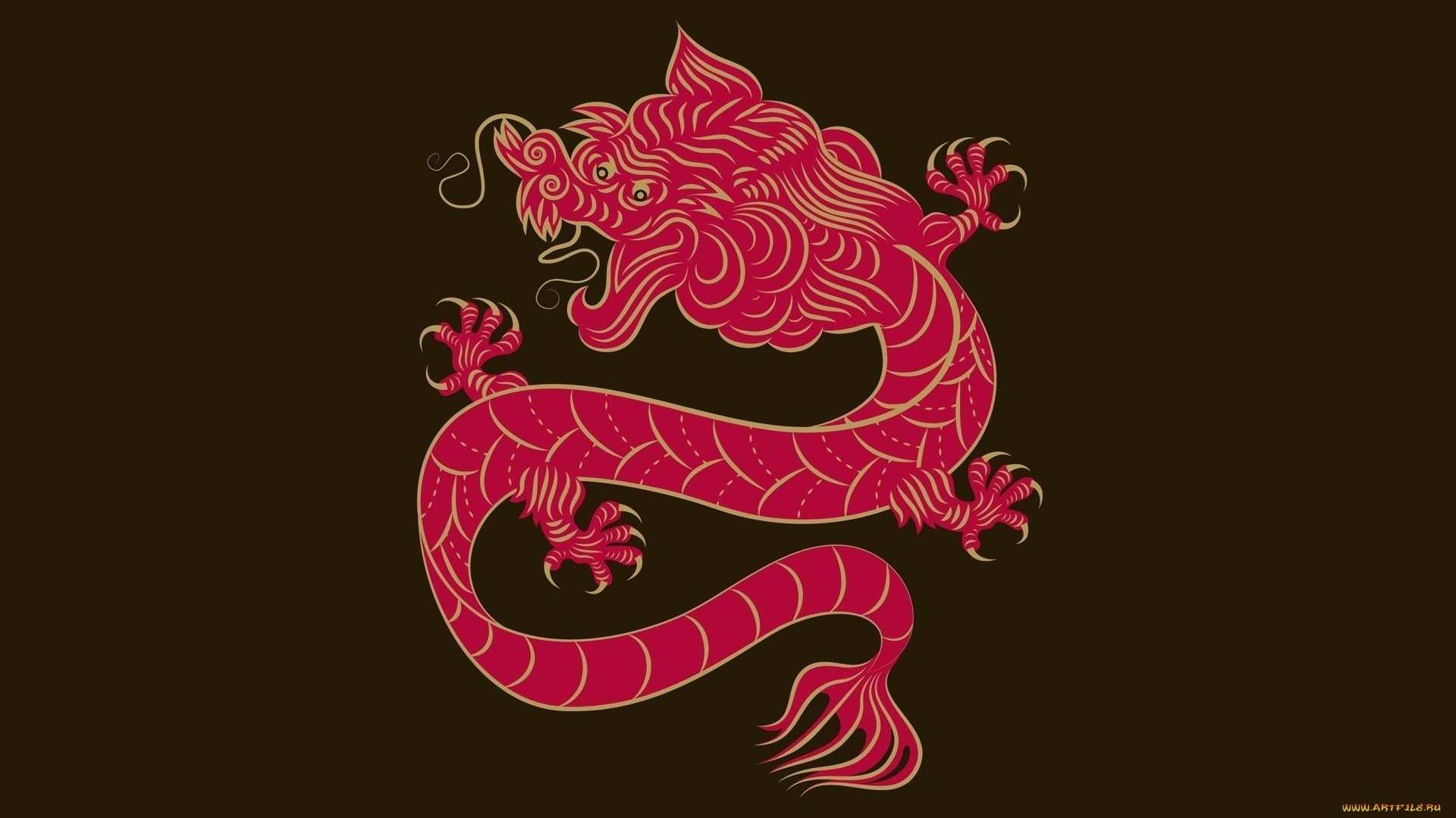 Chinese Dragon Desktop Wallpaper