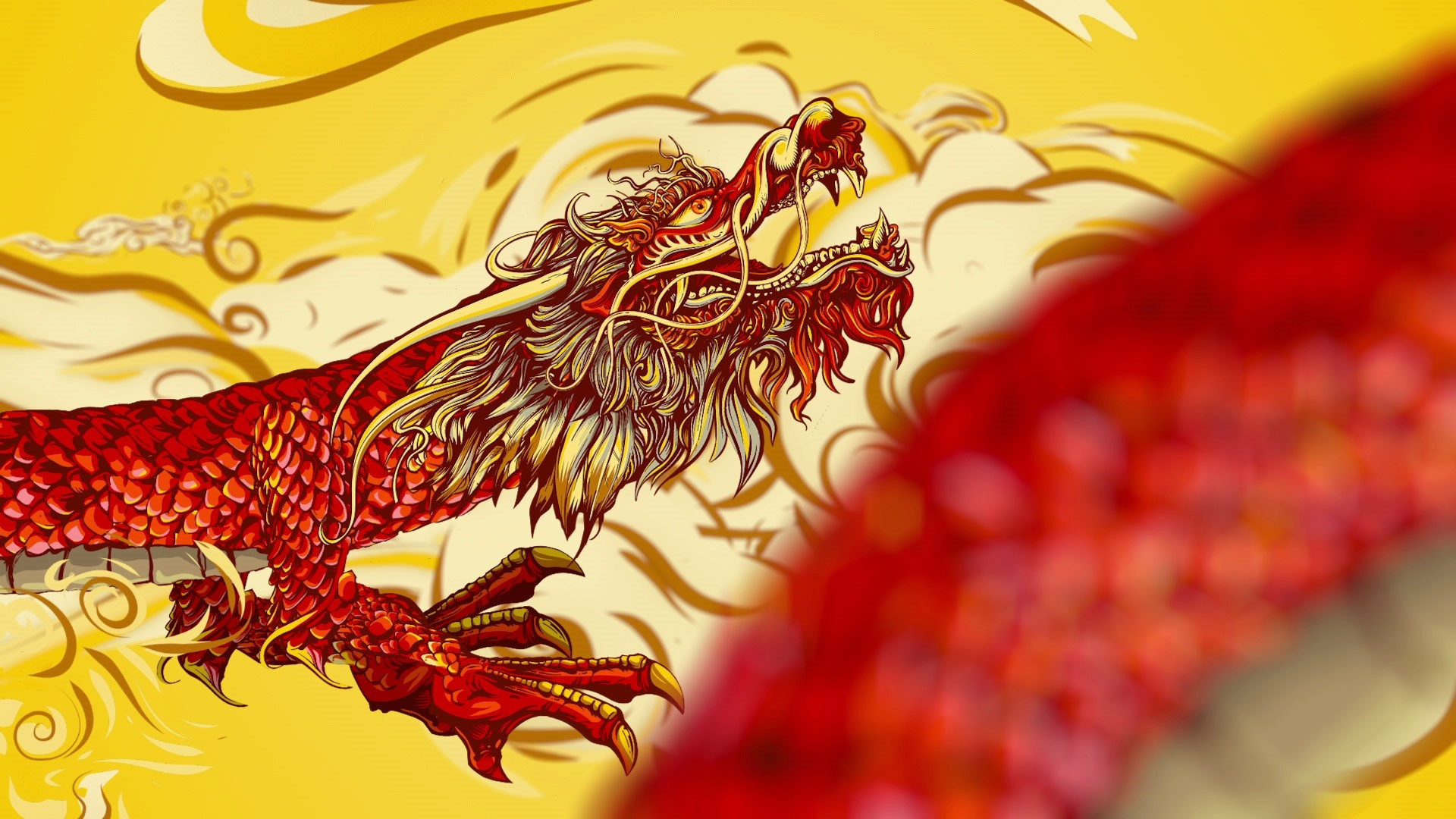 Chinese Dragon hd wallpaper download