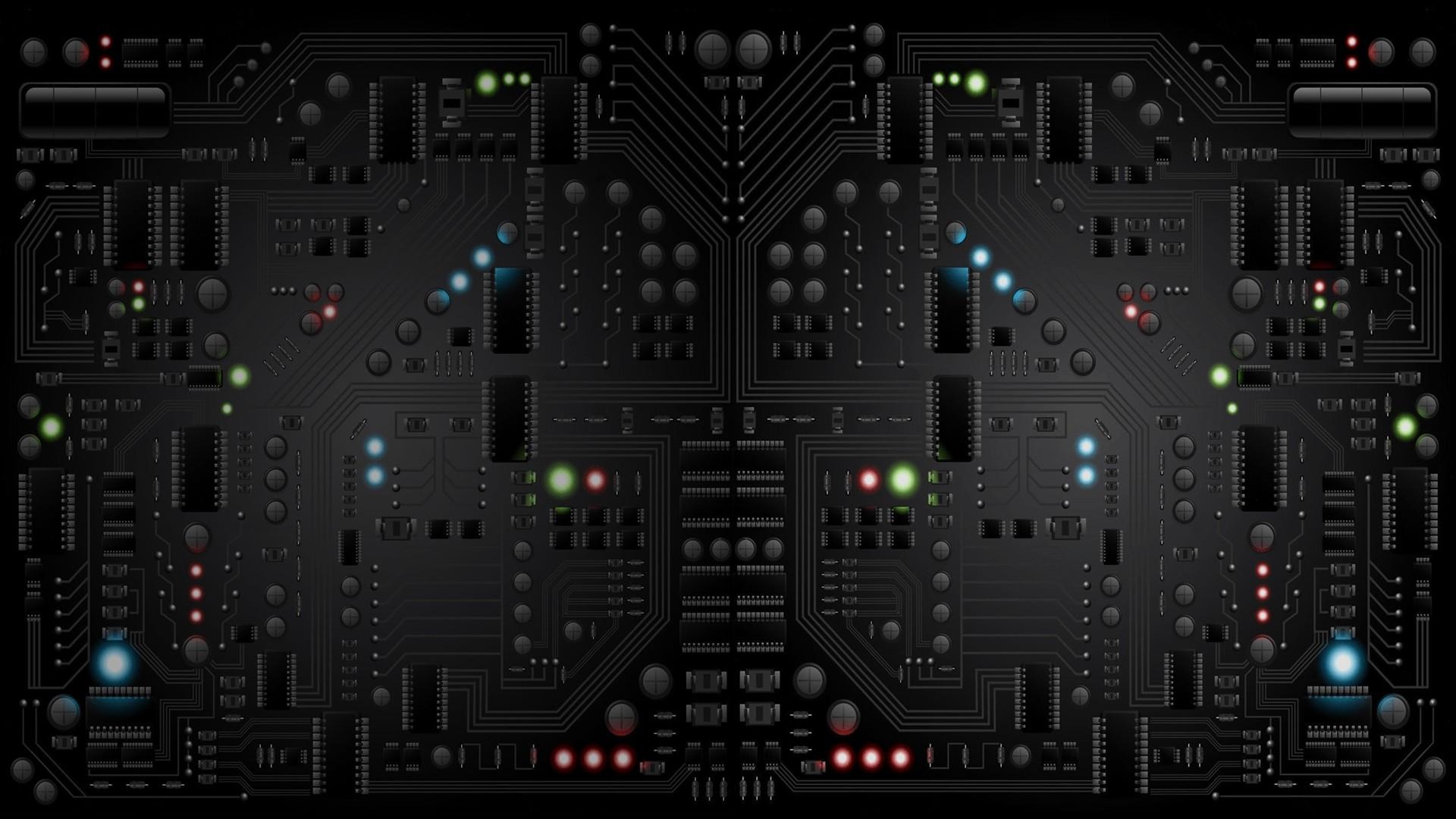 Circuit Board Desktop Wallpaper