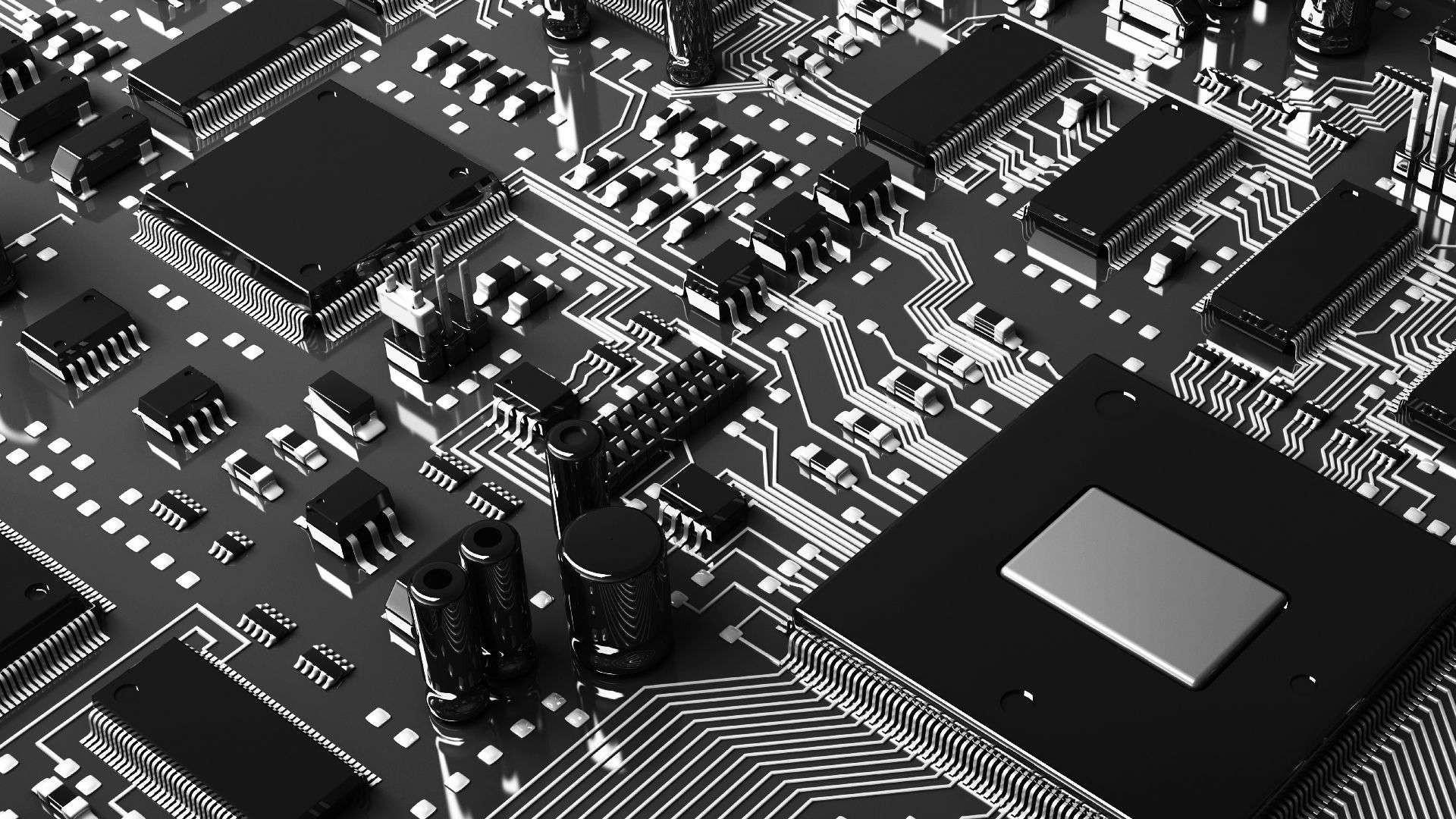 Circuit Board hd desktop wallpaper