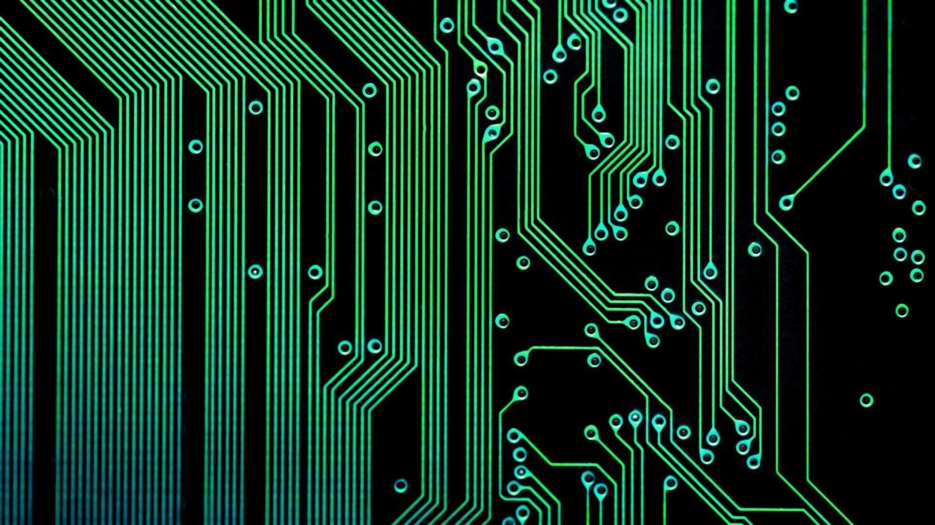 Circuit Board PC Wallpaper HD