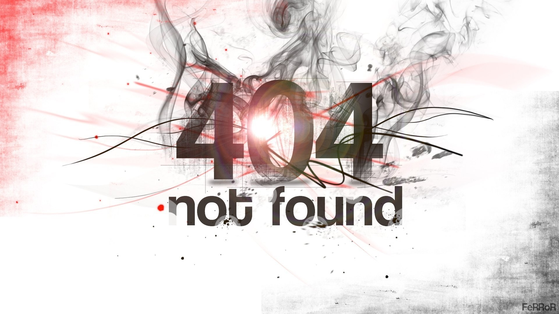 Error 404 a wallpaper