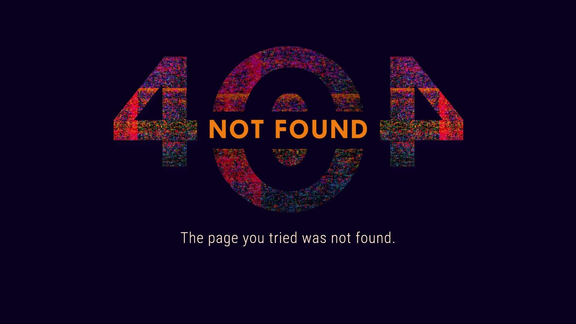 Error 404 Background Wallpaper