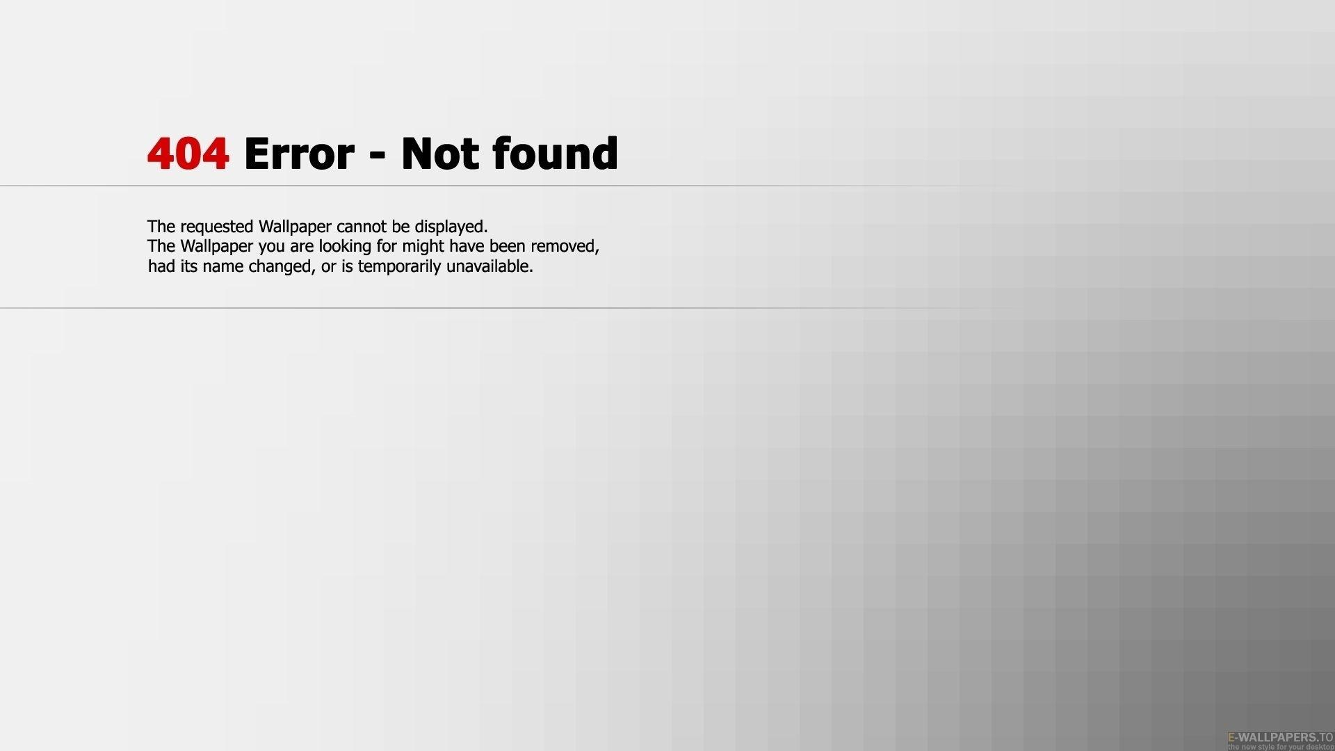Error 404 Wallpaper for pc