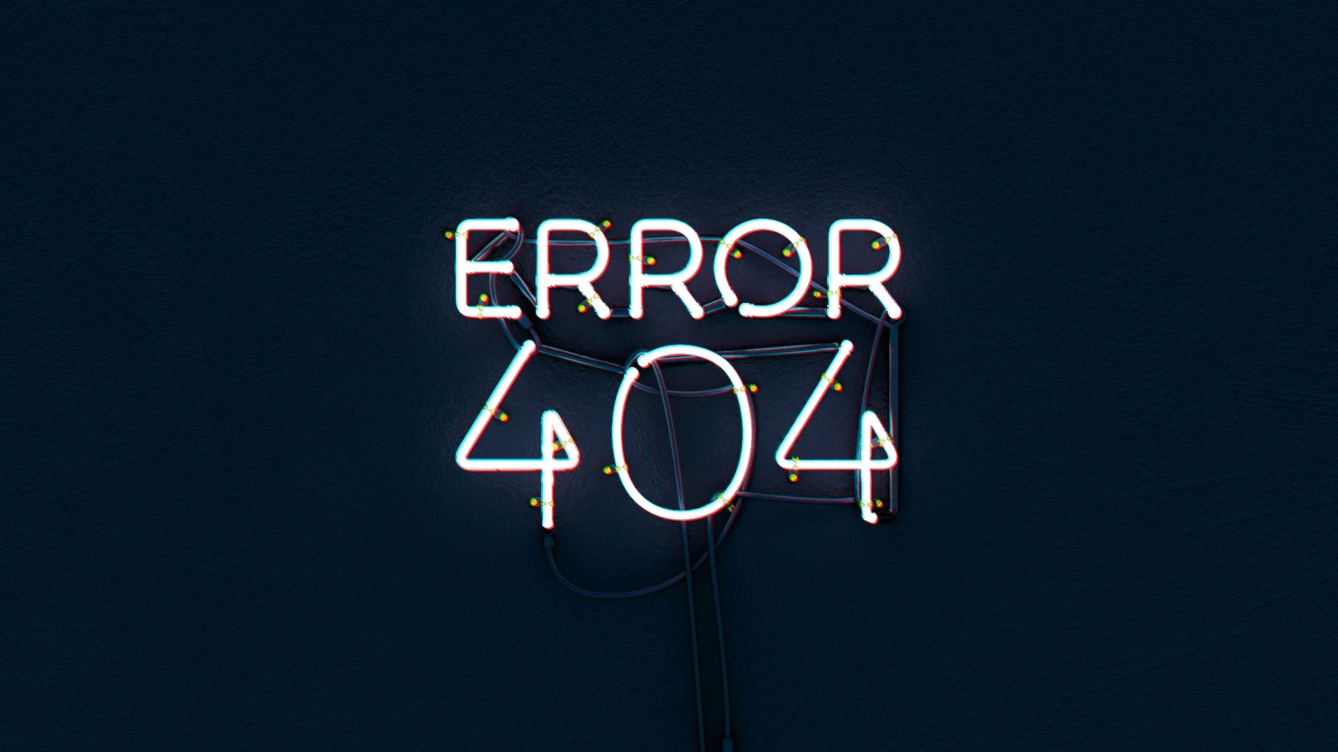 Error 404 PC Wallpaper