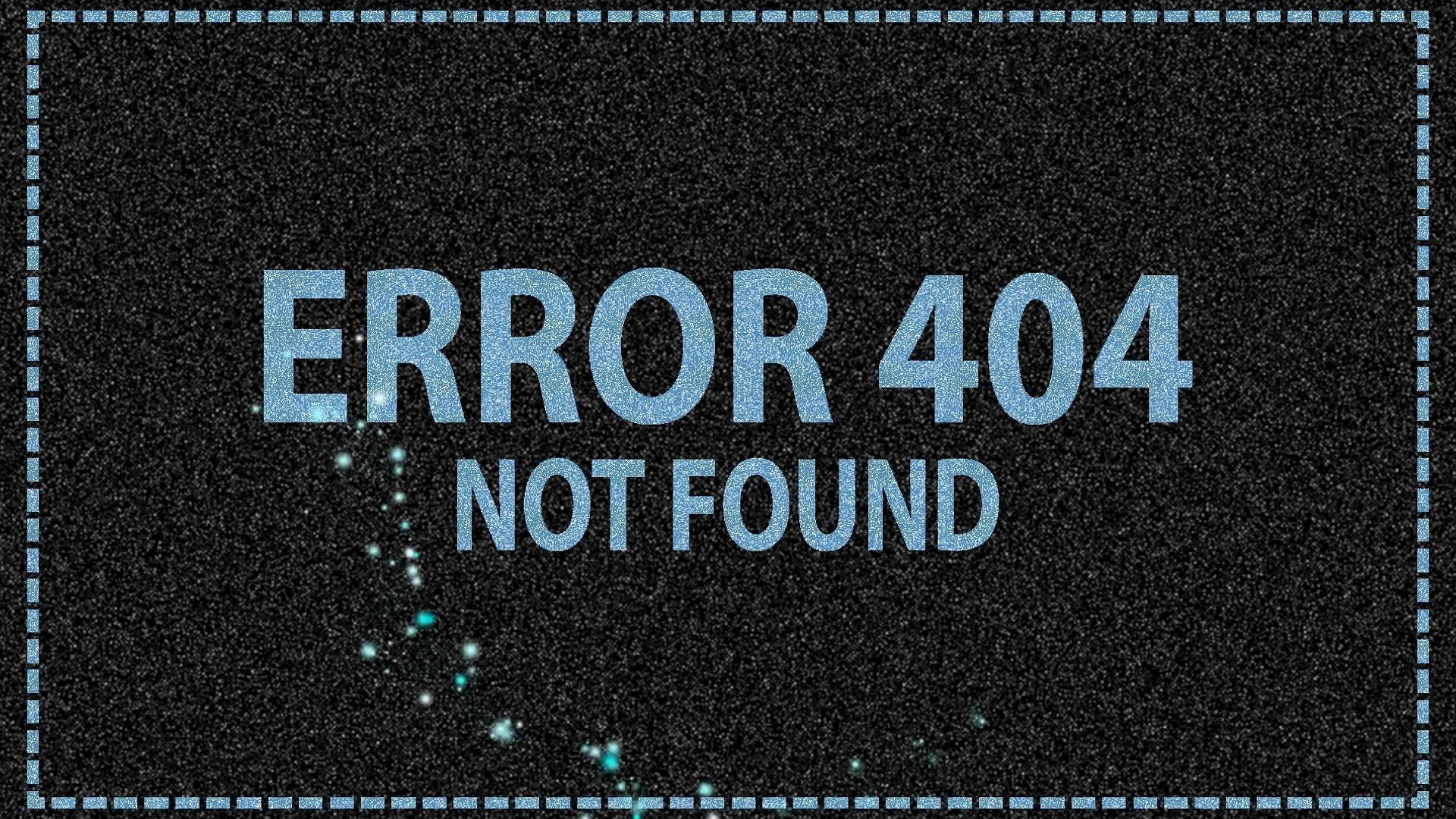 Error 404 Wallpaper Picture hd