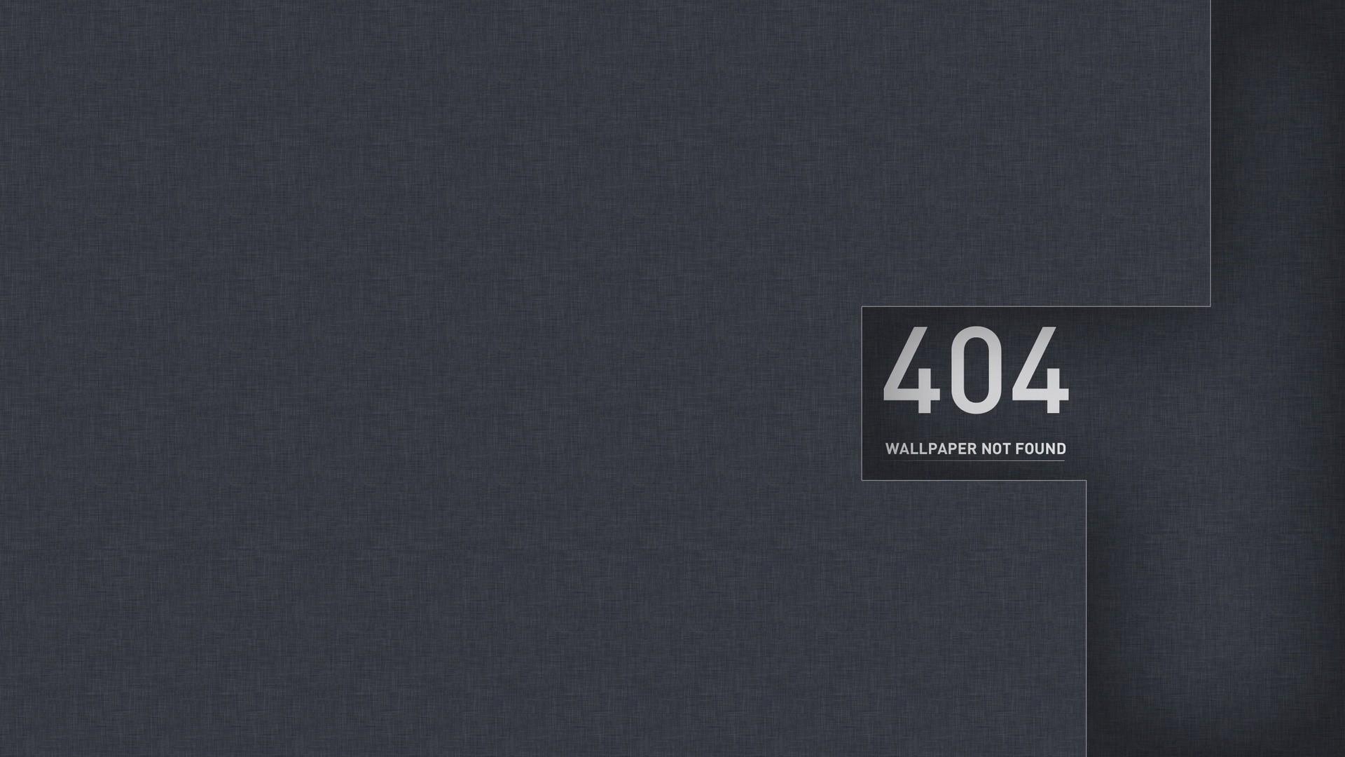 Error 404 Desktop Wallpaper