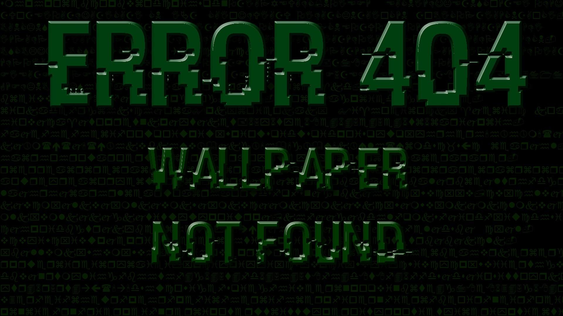 Error 404 wallpaper photo hd