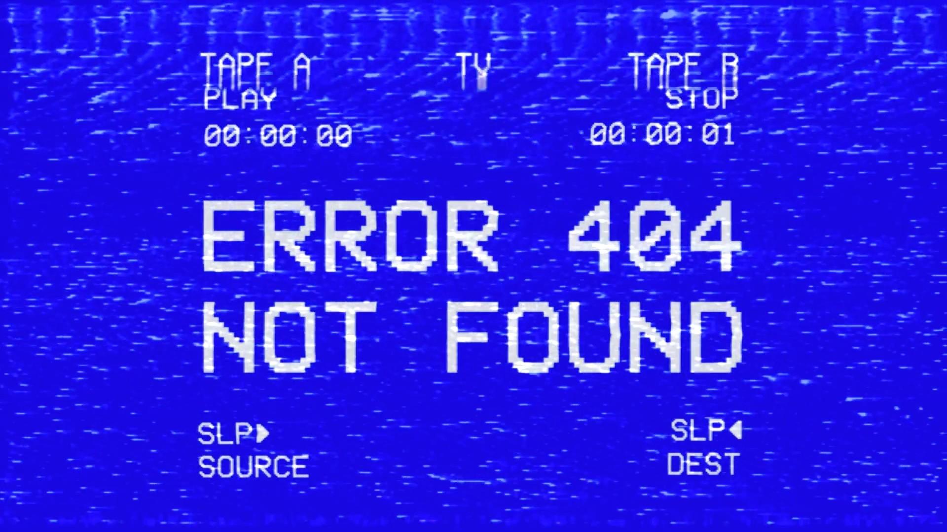 Error 404 Picture