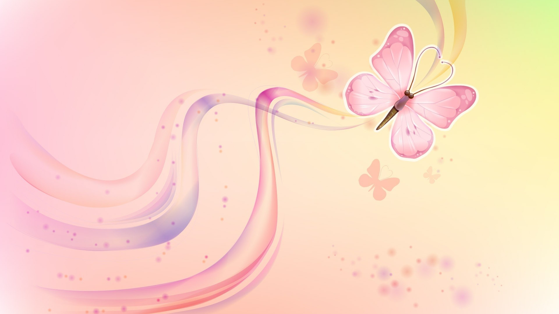 Pink Butterfly High Quality