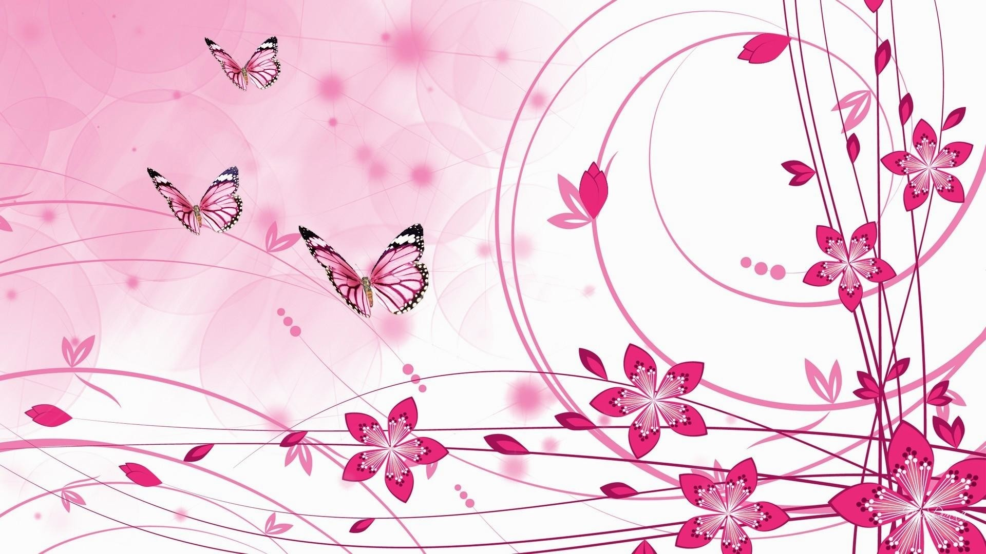 Pink Butterfly Picture