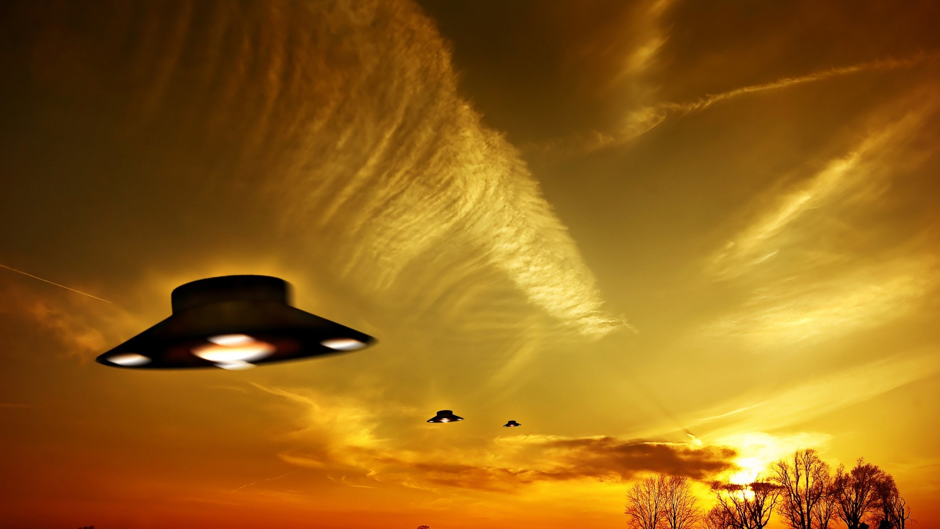 Ufo hd wallpaper download
