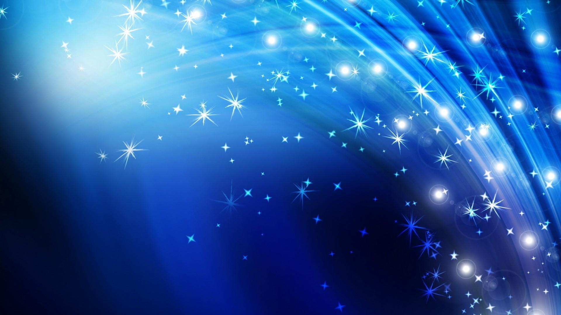 Spark Blue Desktop Wallpaper