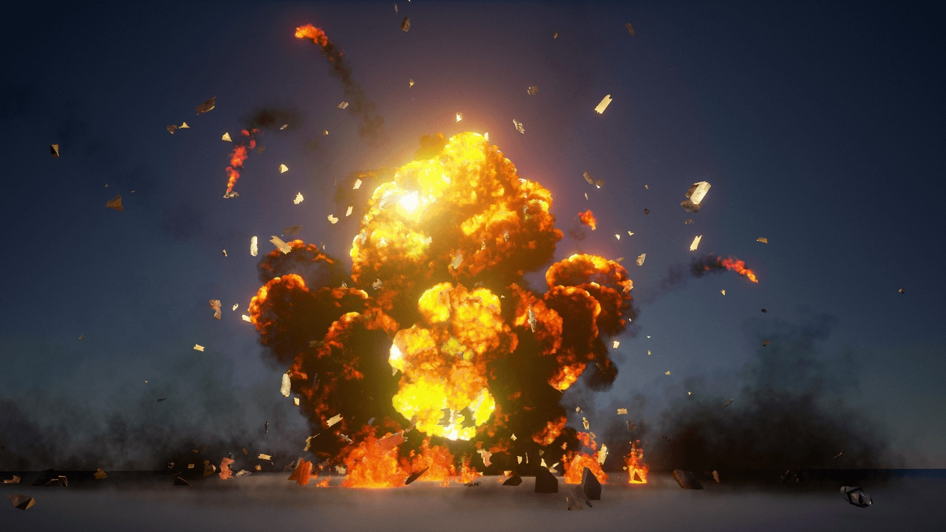 Explosion Desktop Wallpaper