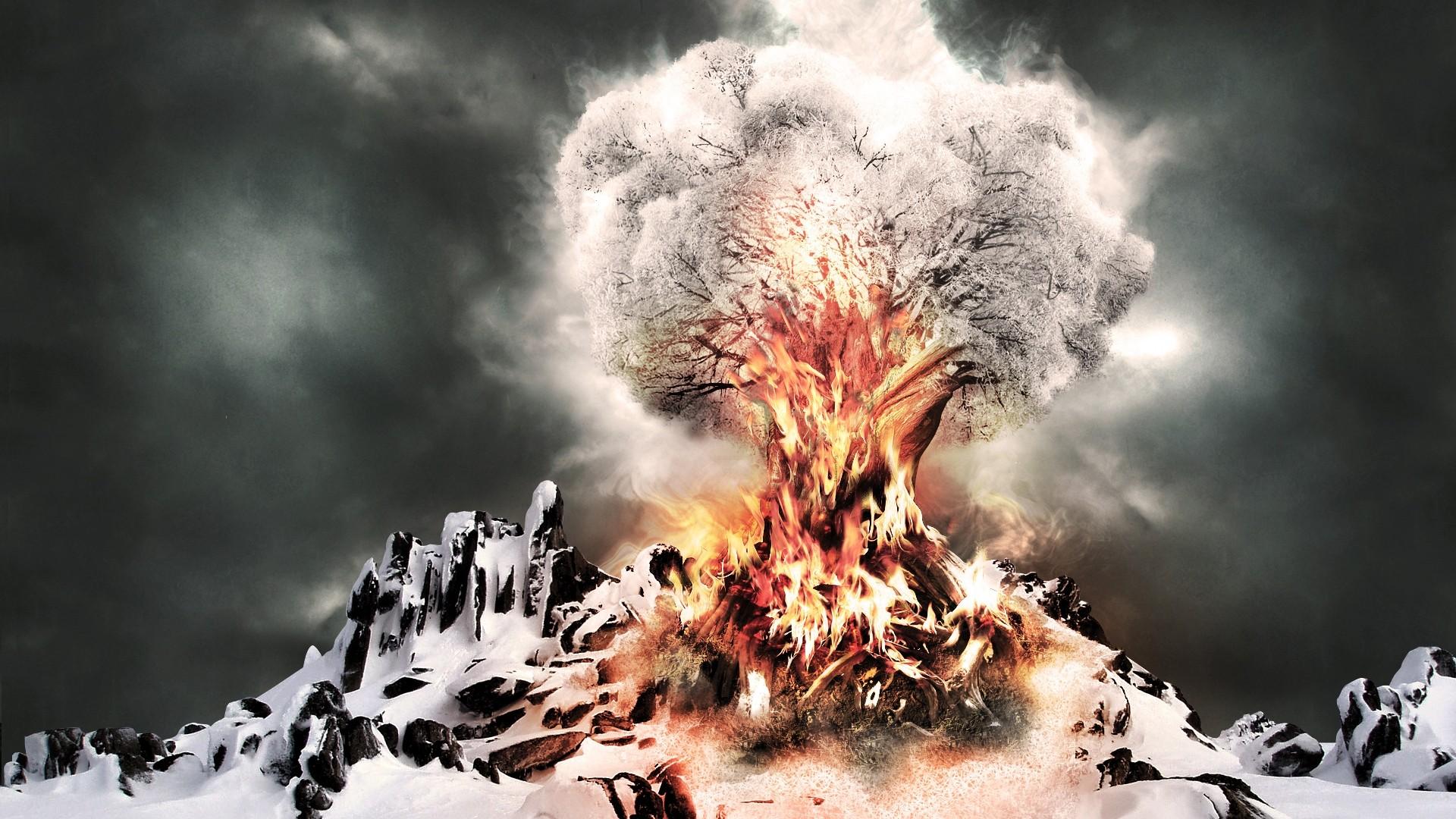 Explosion HD Wallpaper