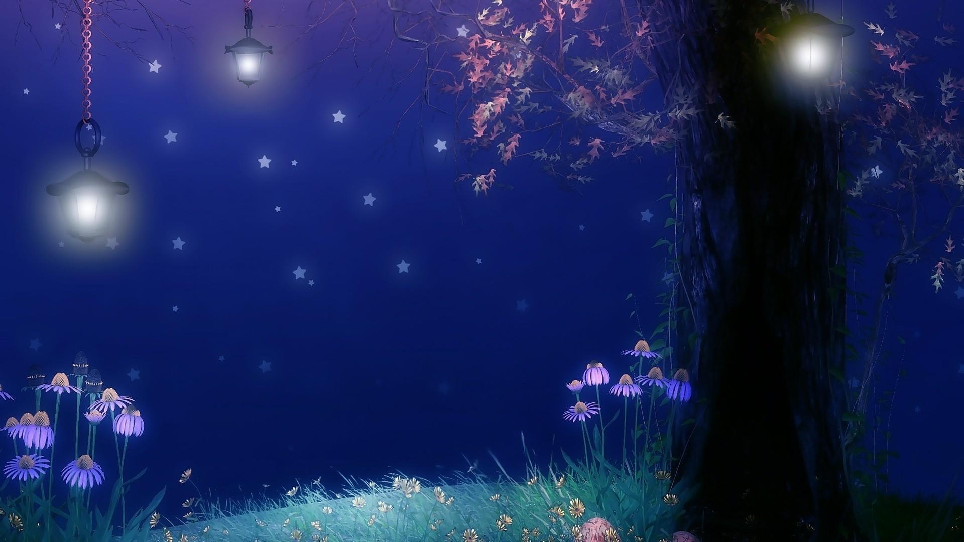 Fairy Lights Desktop Wallpaper