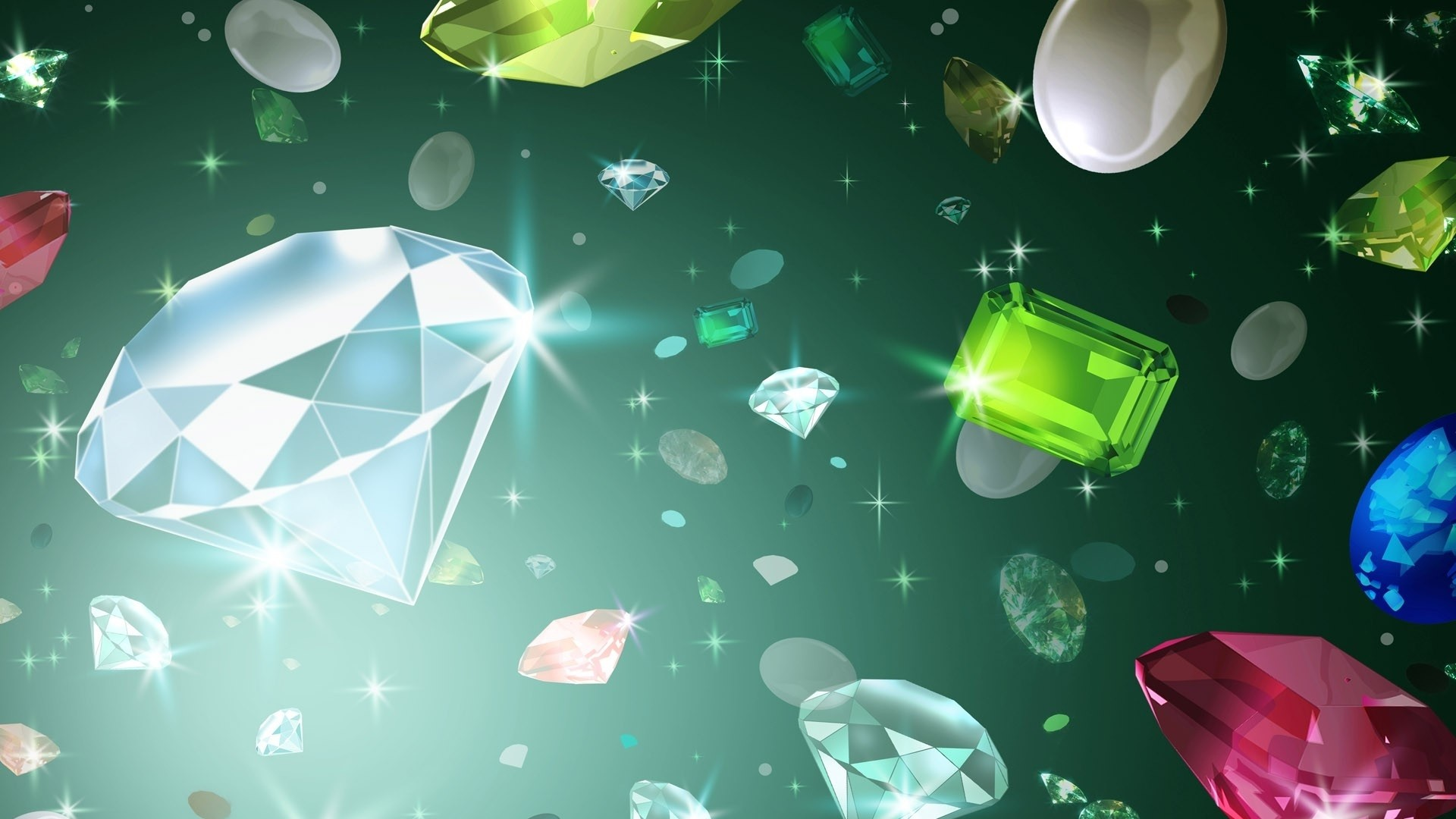 Gems Wallpaper