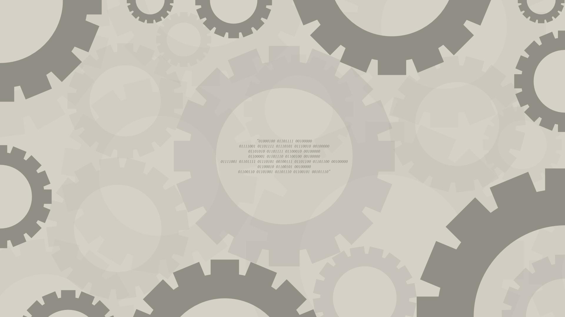 Gears Desktop Wallpaper