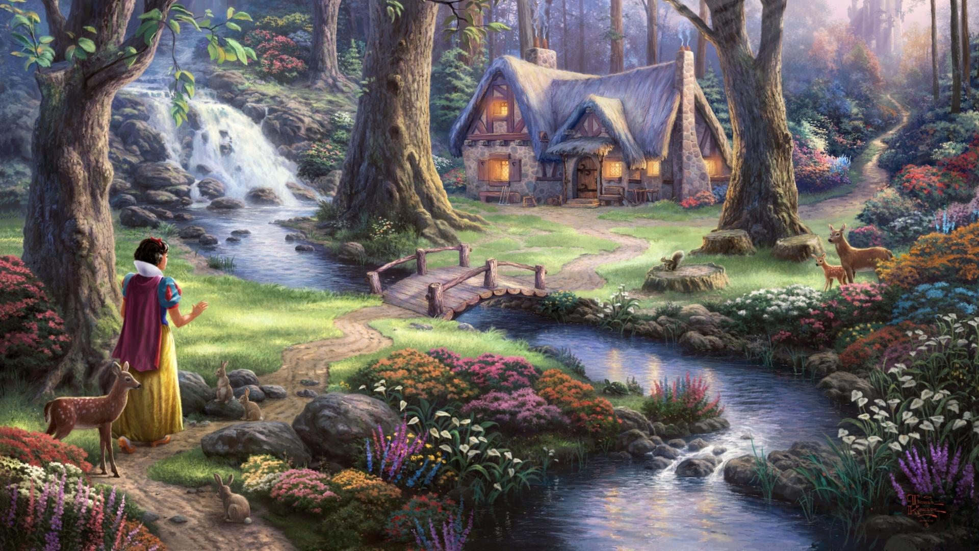 Fairy World Background