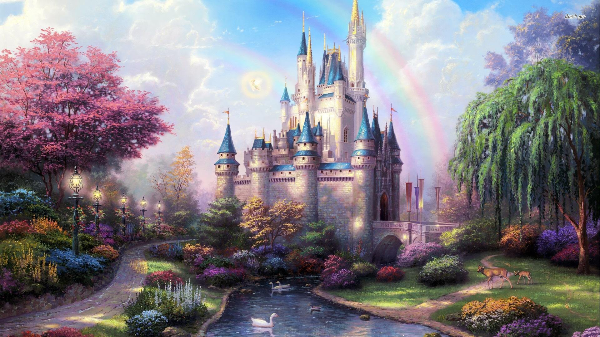 Fairy World Desktop Wallpaper