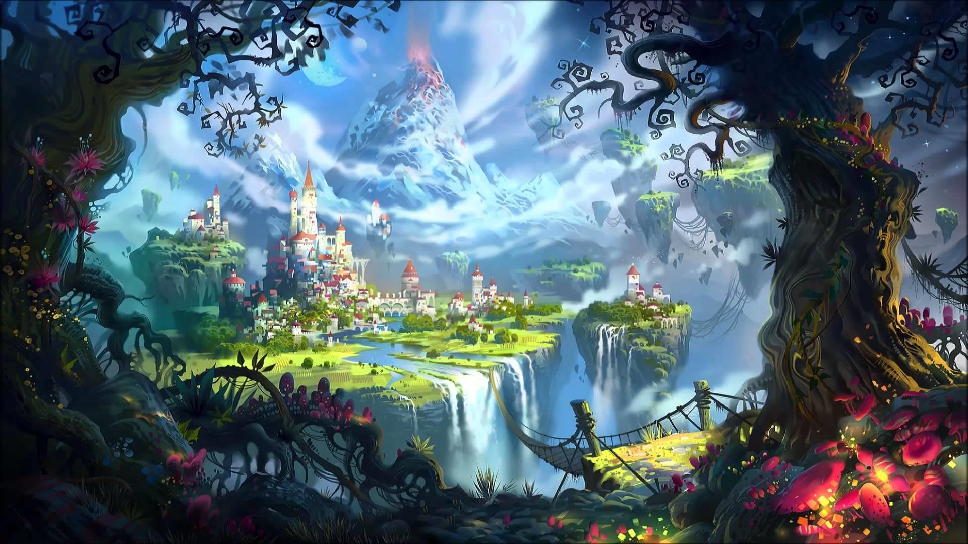 Fairy World HD Wallpaper