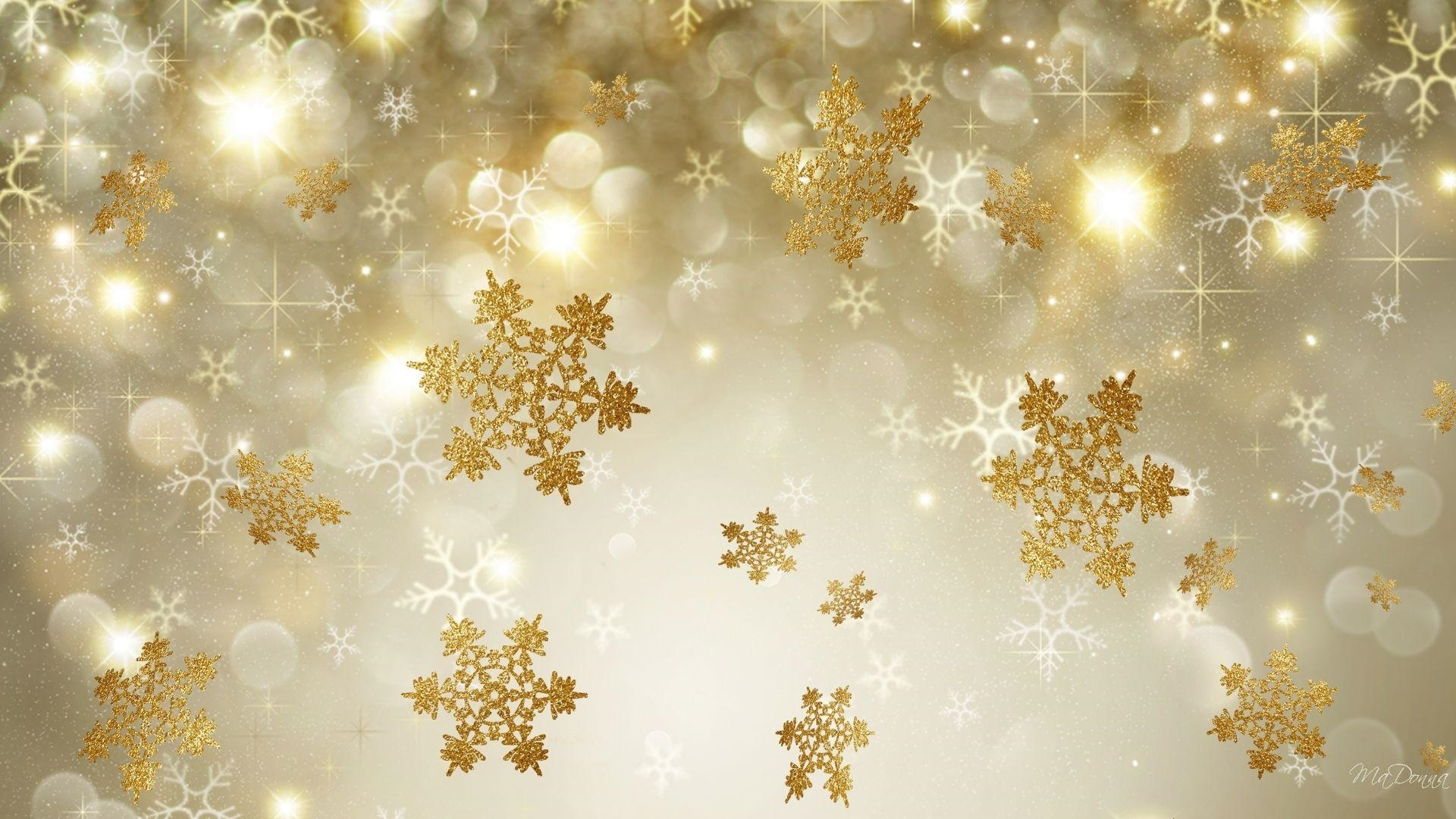 Christmas Gold Picture