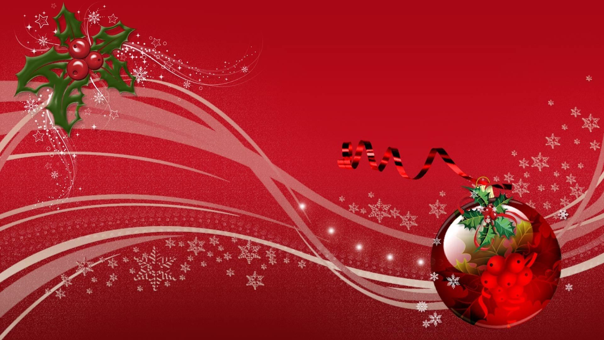 Christmas Red Wallpaper
