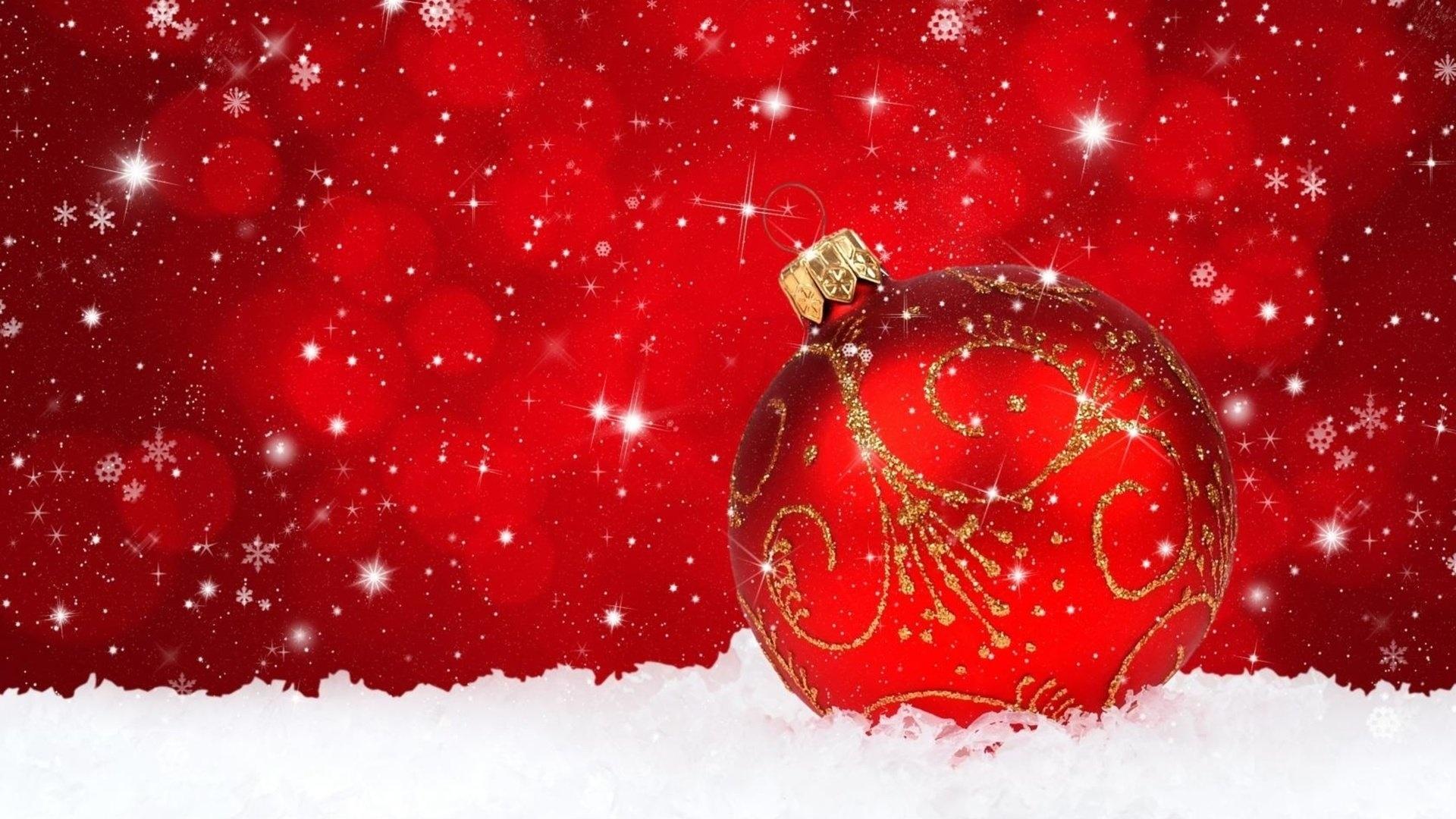 Christmas Red HD Wallpaper