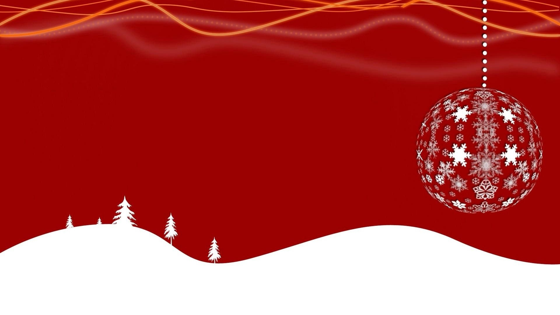 Christmas Red Desktop Wallpaper