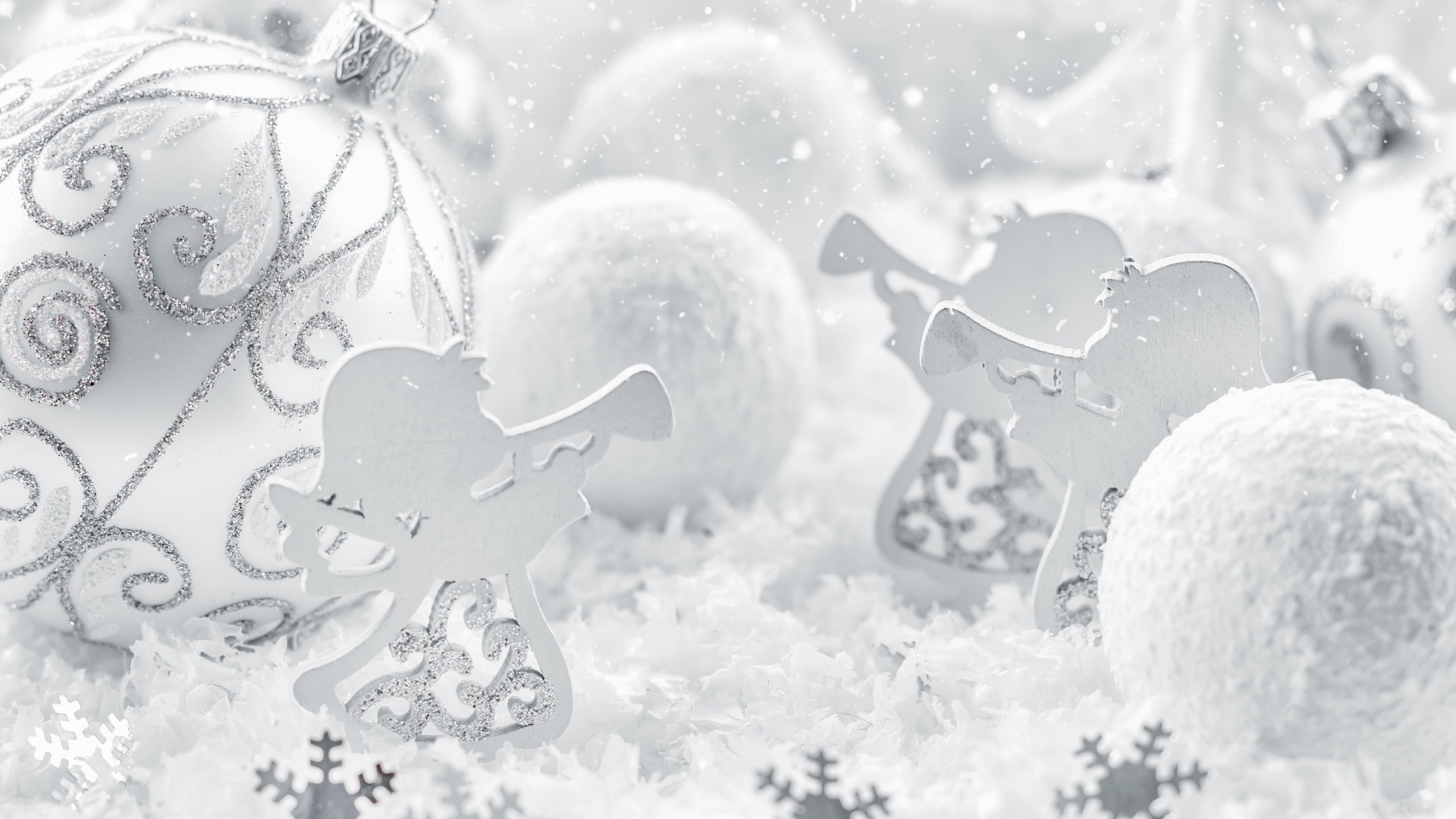Christmas White Picture