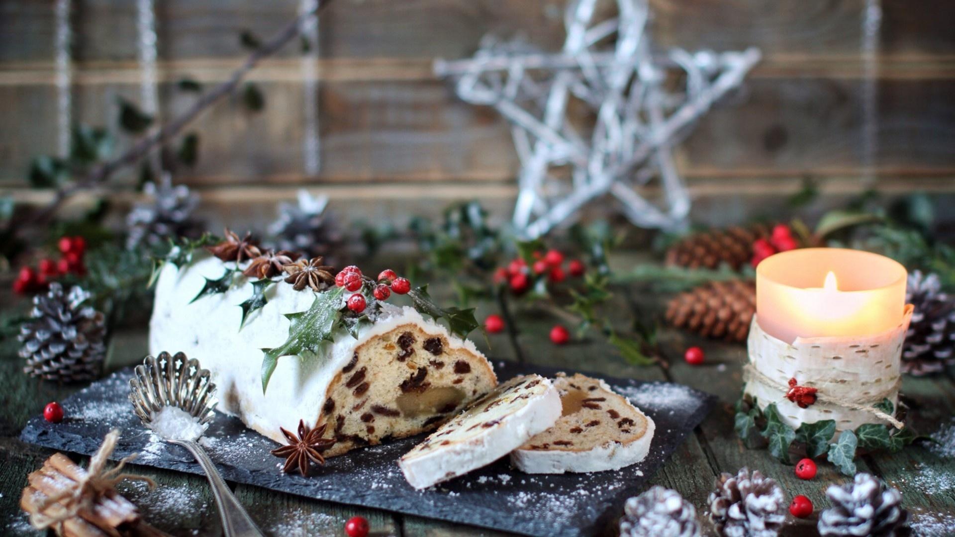 Christmas Dishes Desktop Wallpaper