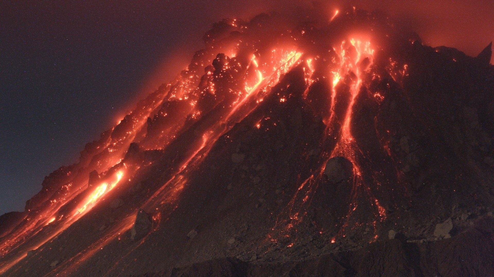 Volcano Eruption Picture