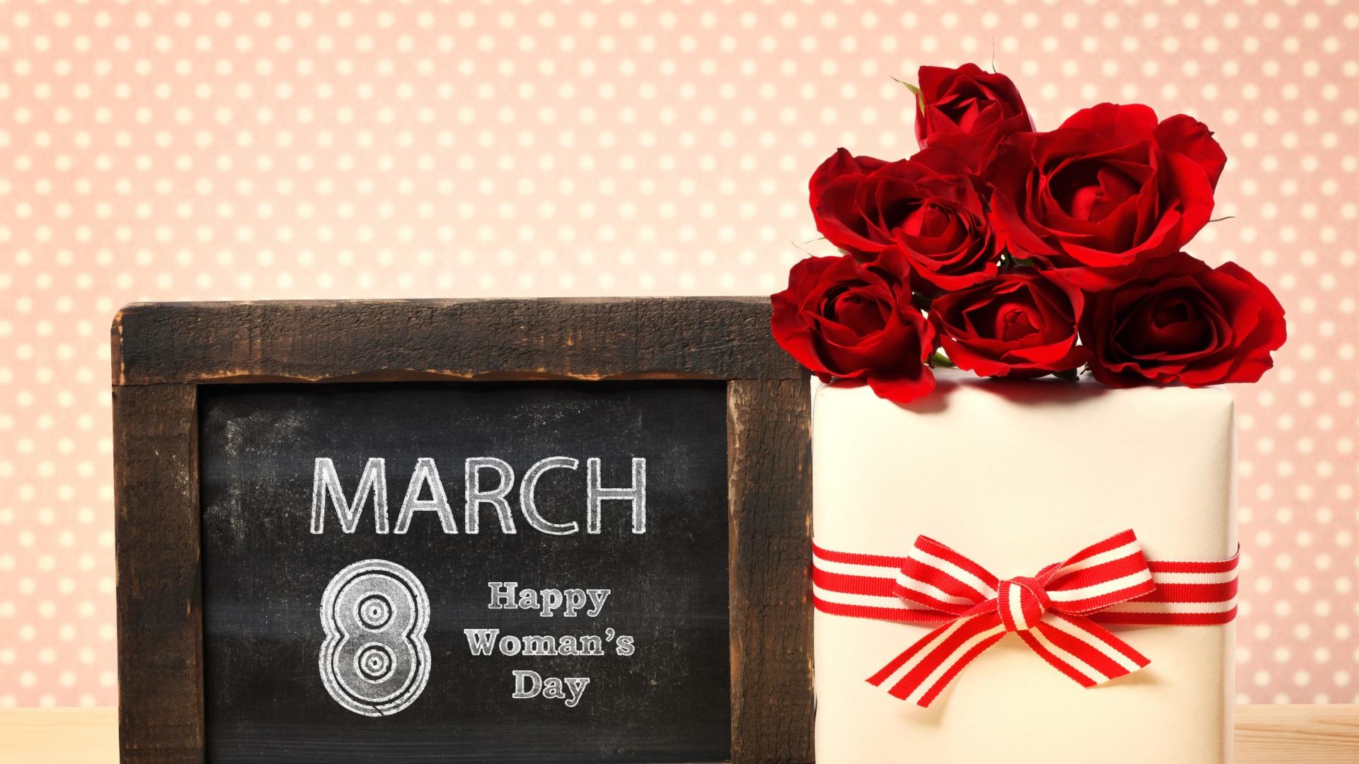Happy Women's Day desktop wallpaper hd