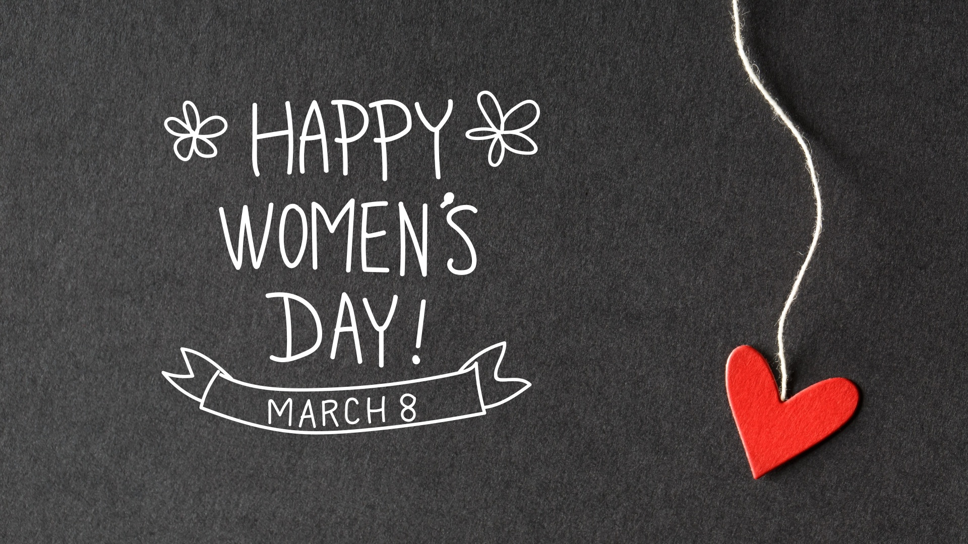 Happy Women's Day wallpaper for computer
