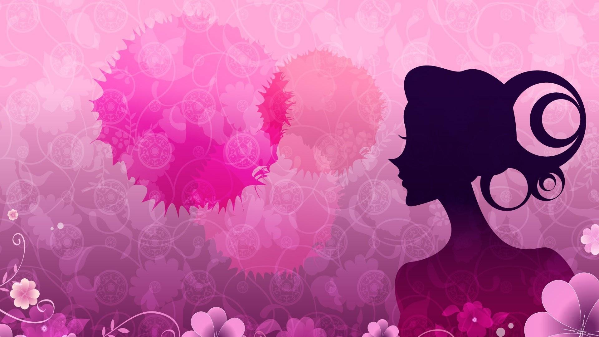 Happy Women's Day Wallpaper theme
