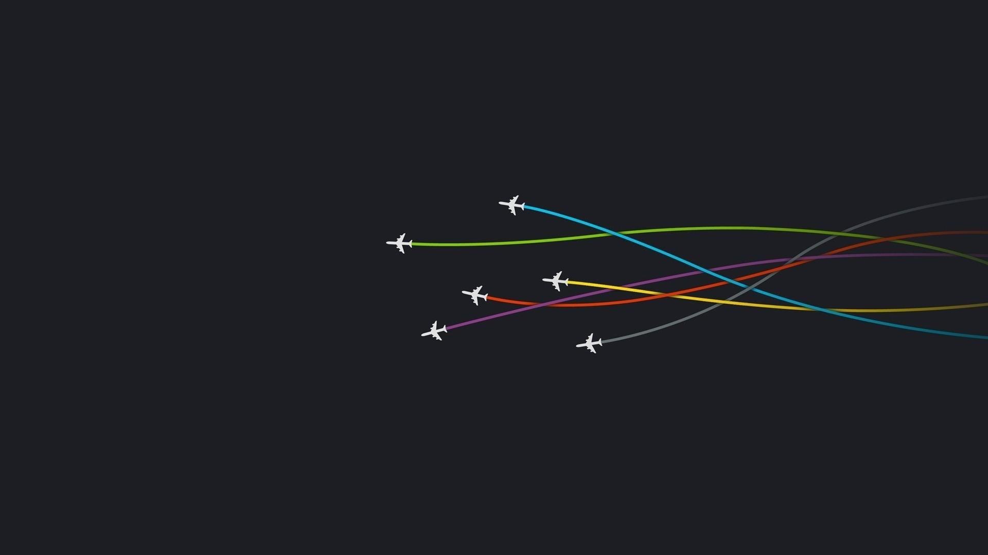 Airplane Minimalist Image