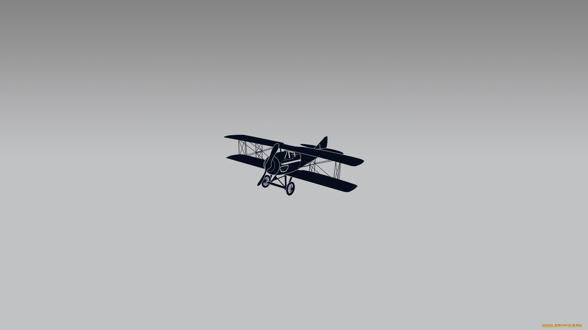 Airplane Minimalist HD Wallpaper
