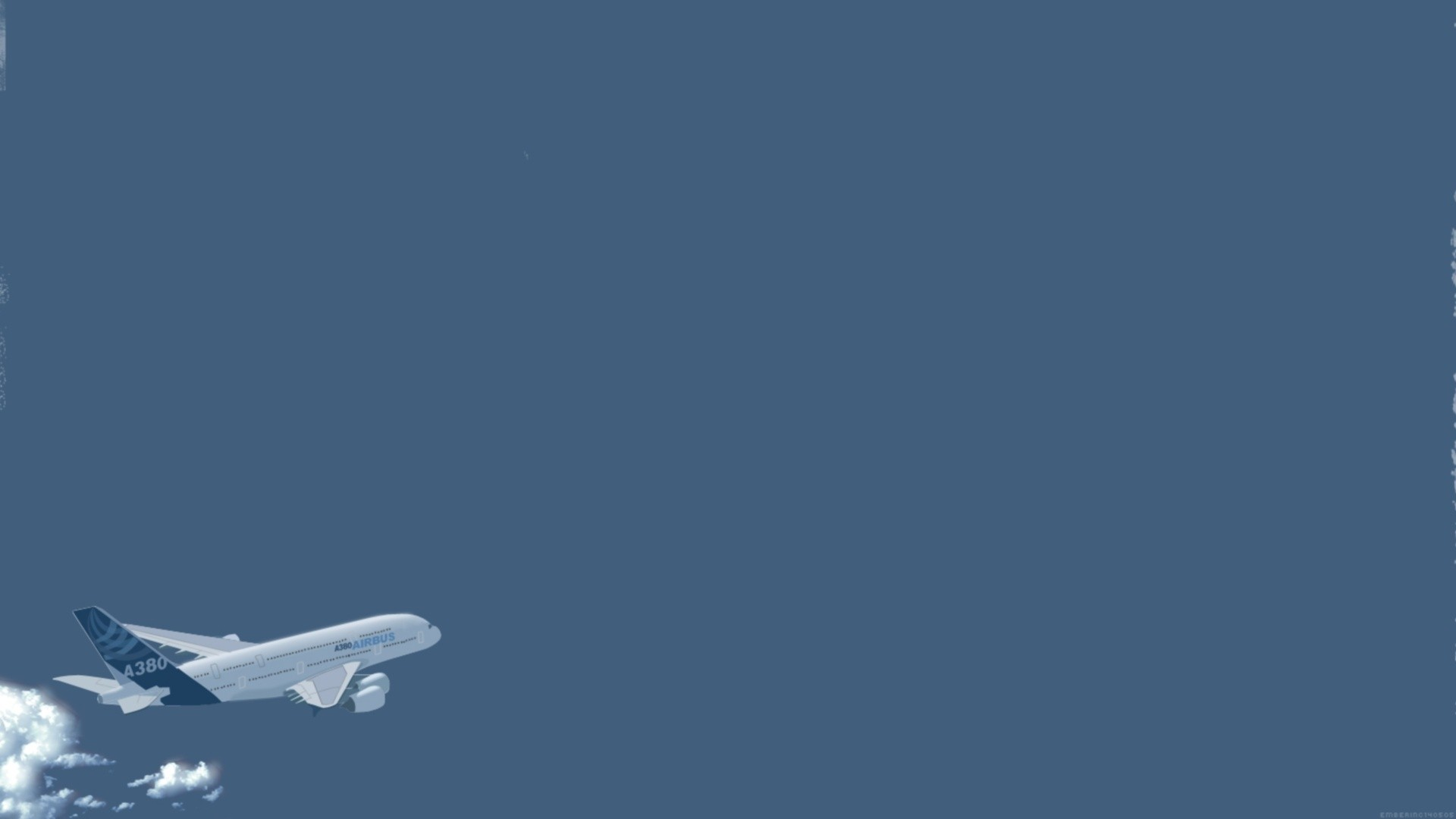 Airplane Minimalist Picture