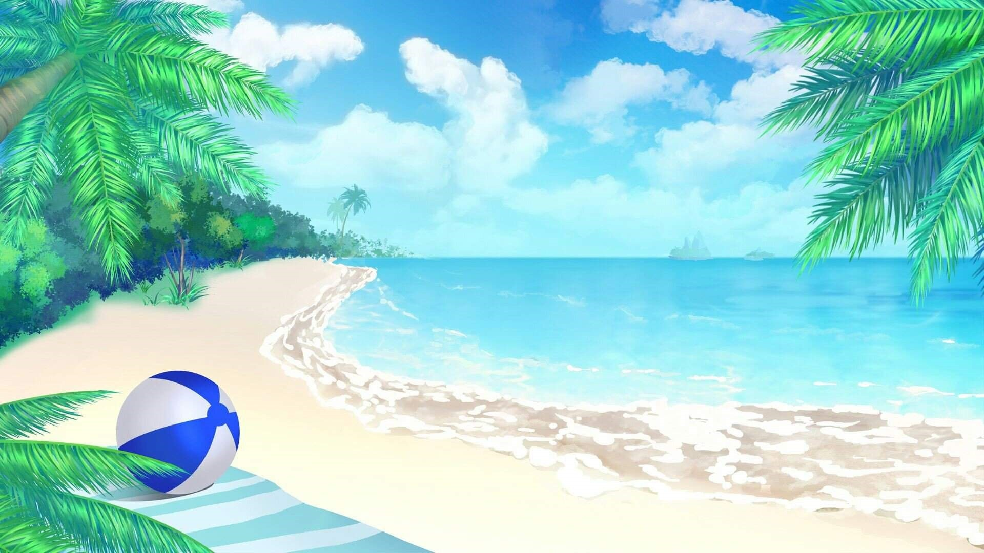 Anime Beach Picture