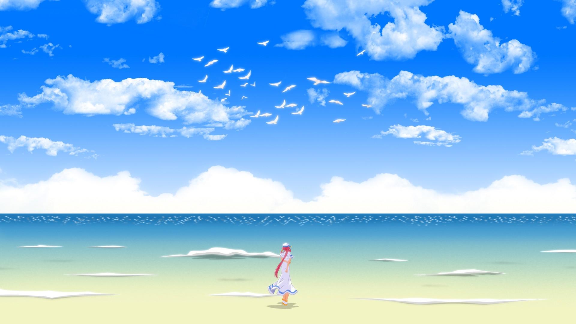 Anime Beach Pic